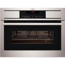 AEG-Electrolux BS7304001M Built-in Ovens MaxiKlasse ProCombi steam oven with 3 steam functions and 16 multifunctional functions 220-240 Volt/ 50 Hz