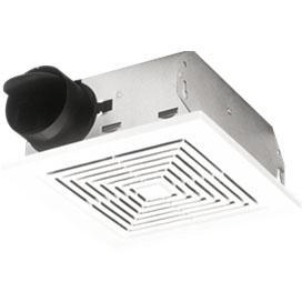 BROAN BR671EX Exhaust Fan Ceiling Mount Exhaust Fan 220-240 Volt/ 50/60 Hz,