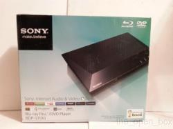 Sony BDP-S1100-ABC Region Free DVD and Region A,B,C Blu-Ray Player 110-220 volts