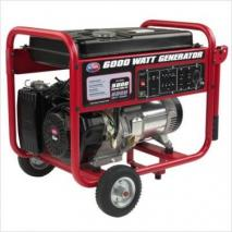 All Power APGG6000 6000 Watt Gasoline Generator with battery & Wheel Kit 220 volts
