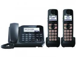 Panasonic KX-TG4772B three handset cordless phone 220-240 volts 50/60 hz