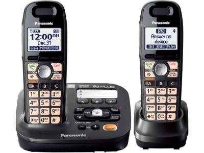 Panasonic KX-TG6592T two handset  cordless phone 220-240 volts 50/60 hz