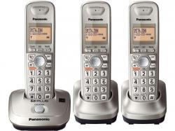 Panasonic KX-TG4013N three handset hz cordless phone 220-240 volts 50/60