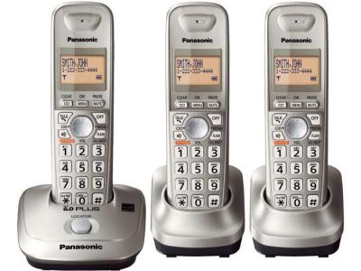 Panasonic KX-TG4013N three handset hz cordless phone 220-240 volts 50/60