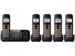 Panasonic KX-TG4745B five handset cordless phone 220-240 volts 50/60 hz