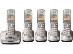 Panasonic kx-tg4025n five handset cordless phone  220-240 volts 50/60 hz