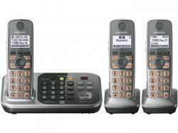 Panasonic kx-tg7743S three handset  cordless phone 220-240 volts 50/60 hz