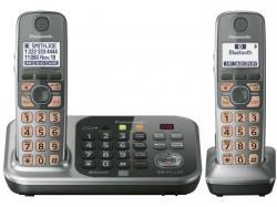 Panasonic kx-tg7742s two handset cordless phone 220-240 volts 50/60 hz
