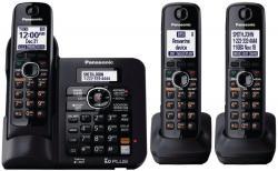 Panasonic kx-tg6643 3 handset world-wide voltage cordless phone 110-240 Volts 50/60 hertz