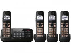 Panasonic kx-tg4744b four handset cordless phone 220-240 volts 50/60 hz