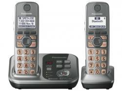 Panasonic kx-tg7732s two handset cordless phone 220-240 volts 50/60 hz