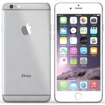 Apple iPhone 6 Plus A1522 4G Phone 64GB Unlock GSM Silver