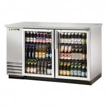 True TRTBB-2GS Back Bar Cooler with LED Lighting 220-240 Volts