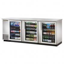 True TRTBB-4GS Back Bar Cooler with LED Lighting 220-240 Volts