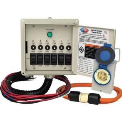 All Power APTS7201 Generator Transfer Switch Kit  220 VOLTS