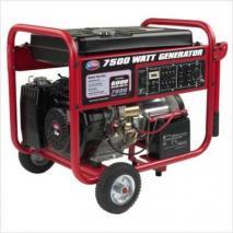 All Power APGG7500 7500 Watt Gasoline Generator with Battery & Wheel Kit 220 VOLTS