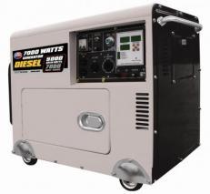 All Power America APGG3203 7000 Watt Diesel Generator with Digital Panel & Battery