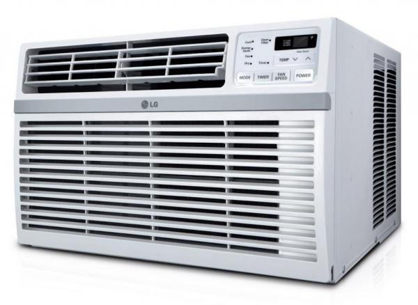 Lg lw2514er 24 000 24 500 btu window air conditioner with for 110 volt window air conditioner