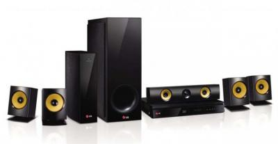 LG BH6830SW 5.1 Channel 3D Blu-Ray Home Theater System with Smart TV FACTORY REFURBISHED FOR USA