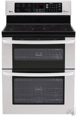LG LDE3035ST 6.7 Cu. Ft. Electric Double Oven Range - Stainless Steel FACTORY REFURBISHED (FOR USA )