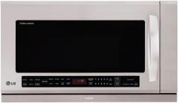LG LSMH207ST Studio Series Over the Range Microwave, Stainless Steel FACTORY REFURBISHED (ONLY FOR USA)