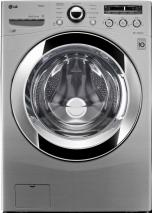 LG WM3250HVA 4.0 Cu. Ft. Large Capacity Front Steam Washer - Graphite Steel FACTORY REFURBISHED (FOR USA)