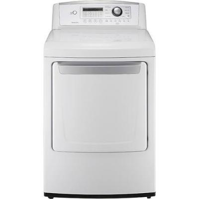 LG DLE4970W 7.3 cu. ft. Electric Dryer, Sensor Dry System, Wrinkle Care Option FACTORY REFURBISHED (FOR USA)