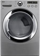 LG DLEX3250V 7.3 Cu. Ft. Electric Steam Dryer, Sensor Dry in Graphite Steel FACTORY REFURBISHED (FOR USA)