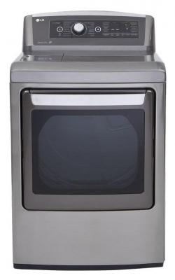 LG DLEX5680V 7.3 cu. ft. Electric Steam Dryer Steam Fresh in Graphite Steel FACTORY REFURBISHED (FOR USA)