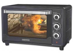 Daewoo DOT-1665 30 Liter Convection/Rotisserie Toaster Oven 220 VOLTS NOT FOR USA