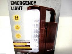 Daewoo DRL-1023S  NEW LED Rechargeable Flash Light Lantern 220 Volt