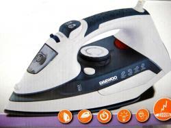 Daewoo DSI-9245 2200-watt Dry/Steam Iron, 220V