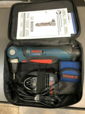 Bosch PS11102220 220V 12V Max 3/8 Inch Right Angle Drill/Driver Kit