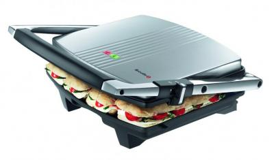 Breville BRVST026X Sandwich Press & Panini Maker 220-240 Volt/ 50 Hz FOR OVERSEAS USE ONLY