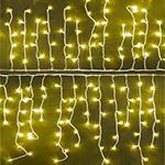 EWI MS-ICICLE-360LED Warm White Icicle LED Christmas Light 220-240 Volt/ 50-60 Hz,