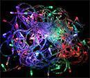 Multistar MSLCR120M Multi-Color Christmas LED String Light220-240 Volt/ 50-60 Hz,