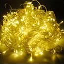 Multistar MSLCR120Y  Yellow Color Christmas LED String Light 220-240 Volt/ 50-60 Hz