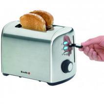 Breville BRVTT505X Brushed Stainless Toaster 220-240 Volt/ 50 Hz