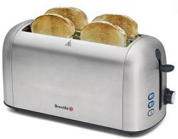 Breville BRVTT506X Brushed Stainless Steel Toaster 220-240 Volt/ 50Hz