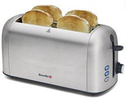 Breville BRVTT506X Brushed Stainless Steel Toaster 220-240 Volt/ 50Hz