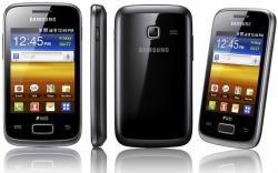 SAMSUNG GALAXY YOUNG S6310 BLACK UNLOCK GSM PHONE