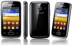 SAMSUNG GALAXY YOUNG S6310 BLACK UNLOCK GSM PHONE