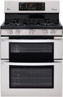 LG LDG3036ST, LMH2016ST Oven Range & Over the Range Microwave Set FACTORY REFURBISHED (FOR USA)