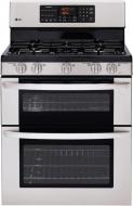 LG LRG3095ST, LMV1683ST Oven Range & Over the Range Microwave Set FACTORY REFURBISHED (FOR USA )