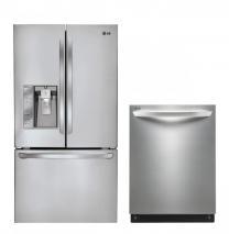 LG LFX31925ST, LDF7551ST French Door Refrigerator & Dishwasher Set FACTORY REFURBISHED (FOR USA )