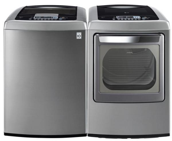 Lg Wt1201cv Dley1201v Top Load Washer Amp Electric Dryer Set Factory Refurbished Only For