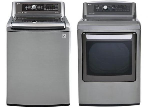 lg wt5680hva dlex5680hva steam washer u0026 electric dryer set factory refurbished for usa