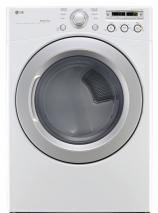 LG DLG3051W 7.3 cu. ft. Ultra Large Capacity Gas Dryer with Sensor Dry REFURBISHED (FOR USA ONLY)