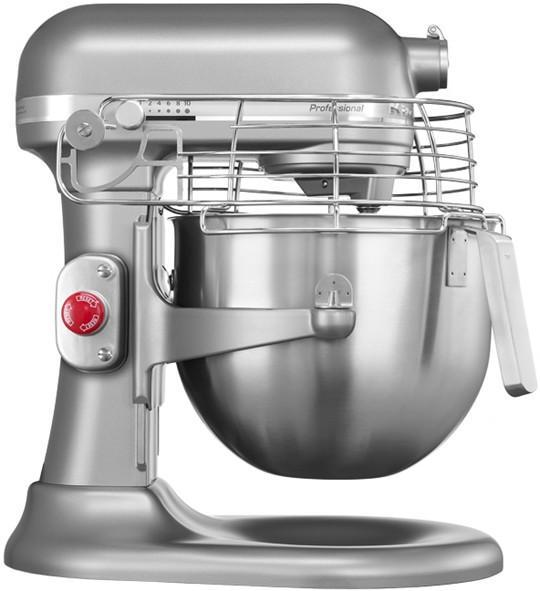 KITCHENAID 5KSM7990XESM PROFESSIONAL STAND MIXER 1.3 HP SILVER METALLIC 220  VOLTS
