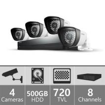 Samsung SDS-P4042 - 8ch 960H Security Camera System 110-220 volts